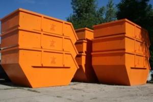 kontenery na gruz i śmieci Wrocław
